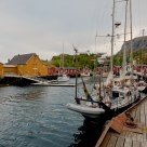 The harbor in Nusfjord
