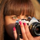 The beauty eyes of a photographer