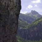 Climbers on the Via Ferrata