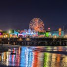 Santa Monica Pier--Night