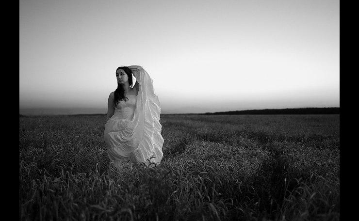 In the field in the Rye