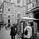 Behind the cathedral - Florence