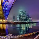 NIGHT, BRIDGE & MOSCOW CITY