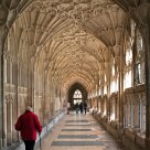 Cloisters of Gloucester cathedral