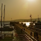 The main pier in the city of Gelendzhik