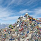 Prayer Flags at Thorung La Pass