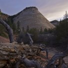 Checkerboard Mesa: Blue Hour