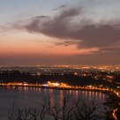 Castel Gandolfo Lake by night