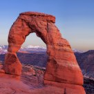 Delicate Arch: Afterglow