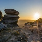 Sunrise on Kinder Scout