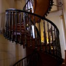 Mysterious spiral staircase of Loretto Chapel