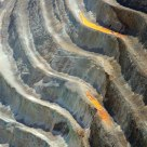 Stairs at Bingham Canyon Open-Pit Mine