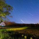 Farmhouse Star Trails