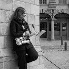 Portrait d'une saxophoniste