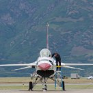 Preparation for a Flight--the Thunderbirds