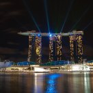 Laser at Marina Bay Sands
