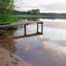 lake, landscape