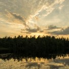 Sunset over Somes Pond