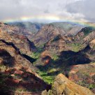 Rainbow, Waimea Canyon