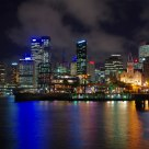 Circular Quay Night Scene