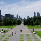 far view of Melbourne City