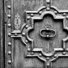 Cahor Cathedral Door - detail