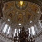 The Neo-Baroque inner dome of Berliner Dom