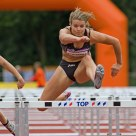 Dafne Schippers (Heptathlon athlete) at 100 meter hurdles
