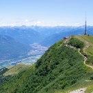 Swiss alps views to Monte Tamaro