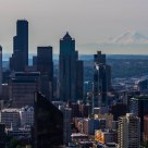 Rare Clear Day in Seattle