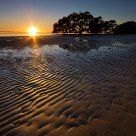 Sunrise over the Nudgee Beach Flats