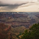 Grand Canyon Overcast Day