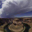 Thunderstorm Over Horseshoe Bend