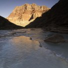 Chuar Butte at sunrise, Little Colorado River