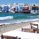 Seaside of  Mykonos