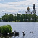 Sacred Peter and Pavel cathedral.