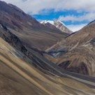 Layered Slopes at Panggong Tso