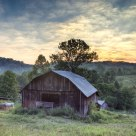 Barn at Dawn