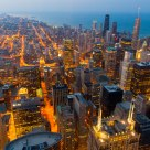 Chicago, night