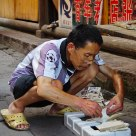 A Storekeeper at Fenghuang Town