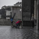 Street dance on street