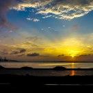 大海,夕阳