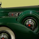 1939 Packard Super 8 Convertible.