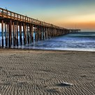 The Sun Sets on the Ventura Pier