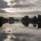 Die stille Ruhr am Morgen