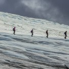 Glacier Hiking on Bøverbreen in Lom in Norway