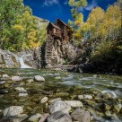 Crystal Mill in Autumn