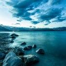 Waters of Panggong Tso