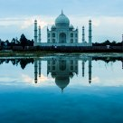 Reflections of Taj