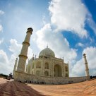 The Taj Mahal on Fisheye